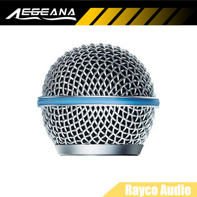10 adet yedek ball head mesh mikrofon grille shure için BETA 58 BETA 58A SM 58