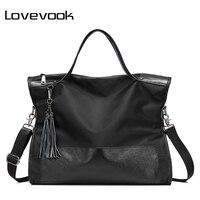 LOVEVOOK Designer Big Tote Bags Handbags Women Famous Brand Female Large Shoulder Messenger Bags Nylon Leather