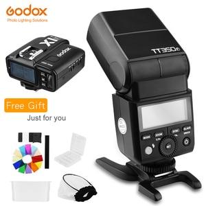 Image 1 - Godox TT350F 2.4G HSS TTL GN36 Flash Speedlite + X1T F Déclencheur Transmetteur Kit pour Fuji X Pro2/X T20/X T1/X T2