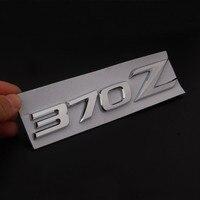 Brand New ABS Chrome Car Auto 370Z Emblem Badge Stickers For NISSAN 370Z Fairlady Z Z34