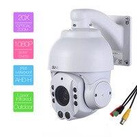 507 AHD20XA Similar To SDI CVI Analog HD 1 3MP AHD Speed Dome Camera With BNC