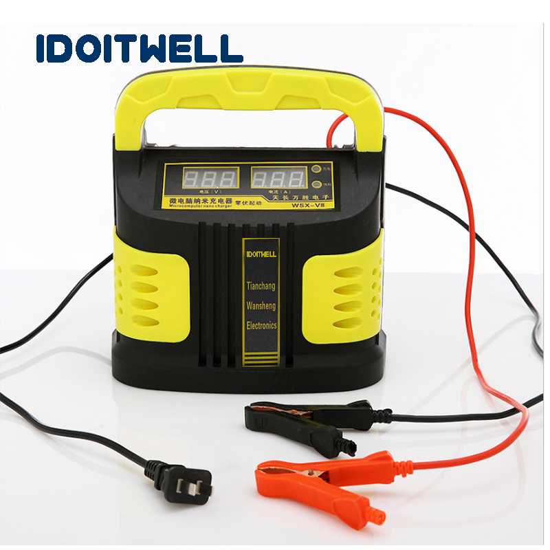 Automatic conversion 12V 24V Battery Charger 12V 10A CAR battery Charger 24V 10A truck battery charger for lead acid battery стоимость