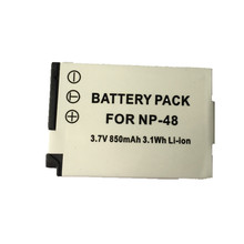 SOULMATE NP-48 FNP48 lithium batteries pack FNP-48 Digital Camera Battery FNP48 NP48 For Fujifilm XQ1 XQ2