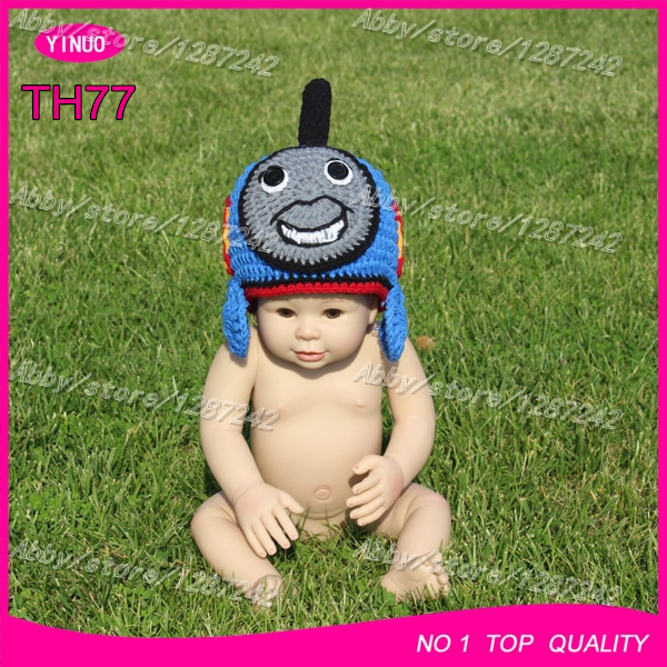 30pcs lot Canada best selling crochet patterns baby hats knit baby hat  thomas train and friends crochet baby beanie hats b7adca583