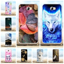 Huawei Honor 5A LYO-L21 Case Silicon Cover Y5 II Y5II / Y6 Compact Cute Fundas Phone Cases