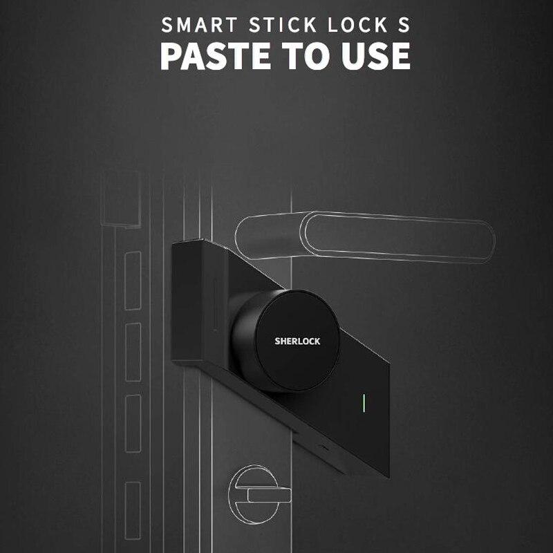 Шерлок S2 Smart замка двери дома без ключа замок пальцем работать с механики замок Smart Беспроводной приложение телефон Управление