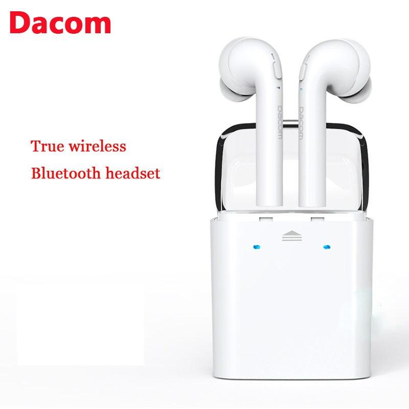 buy new dacom tws true wireless bluetooth headset mini bluetooth 4 2 wireless. Black Bedroom Furniture Sets. Home Design Ideas