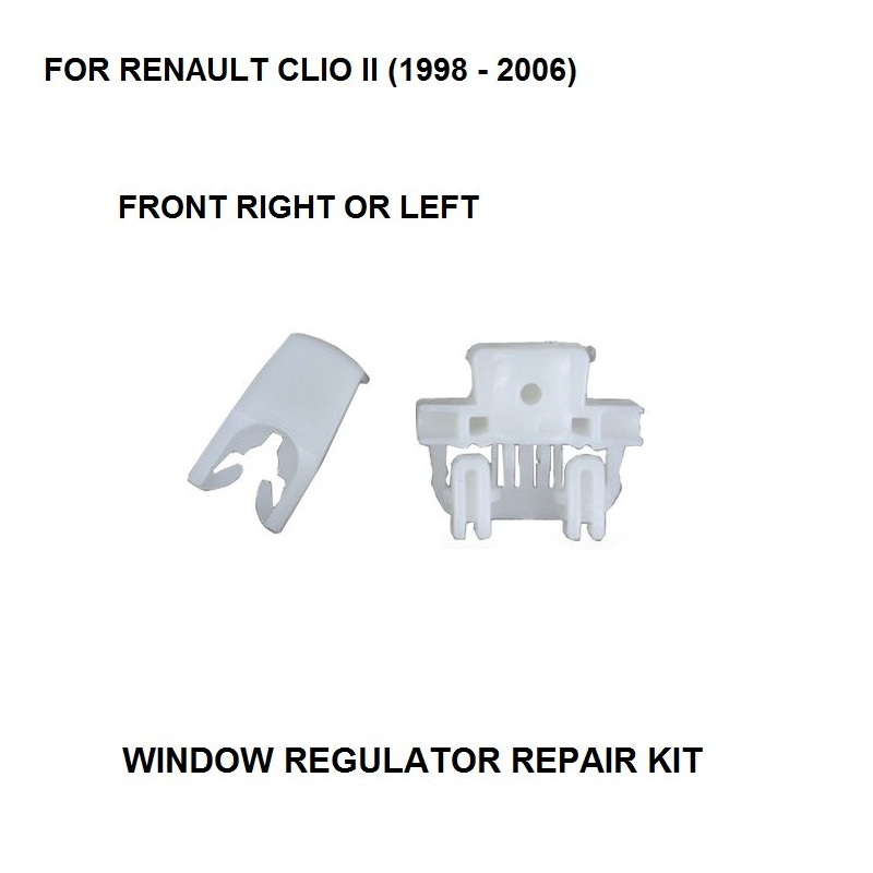 1998-2006 WINDOW REGULATOR COMPLETE CLIP FOR RENAULT CLIO II WINDOW REGULATOR REPAIR CLIP FRONT-RIGHT