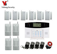 Yobang Security Alarmas GSM Wireless Home Security Alarm System,Intelligent Mobile Call GSM Alarm System Auto Dial & Auto Audio