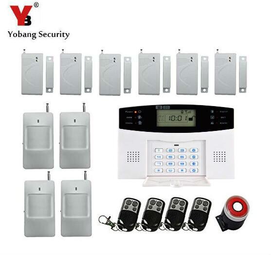 Yobang sécurité-Alarmas GSM système d'alarme de sécurité à domicile sans fil, appel Mobile Intelligent système d'alarme GSM composition automatique et Audio automatique