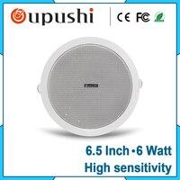 Free Shipping 6 Watt Ceiling Speaker And Embedded Speaker