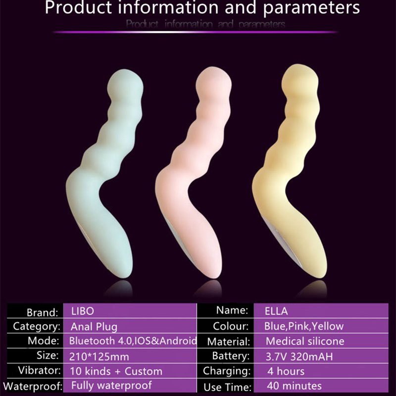 Smart Anal & vagina massager Butt Plug pull beads Anal dildo Vibrator Anal Sex Products gay erotic toys Adult Sex Toys For women wins anal sex toys for men women anal beads plug women butt plug silicone waterproof anal body massager sex products
