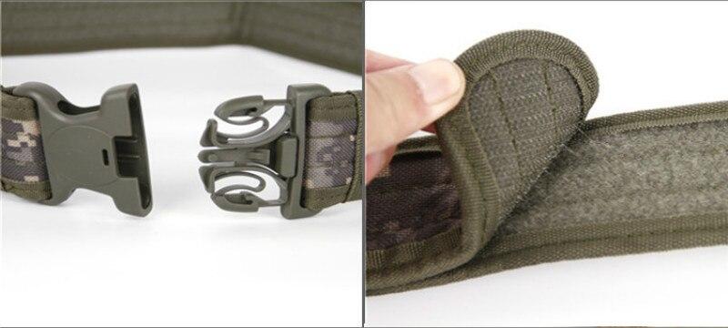 Армейский Стиль военные ремни быстросъемный тактический ремень модный мужской холщовый Пояс для охоты 5 цветов 130 см