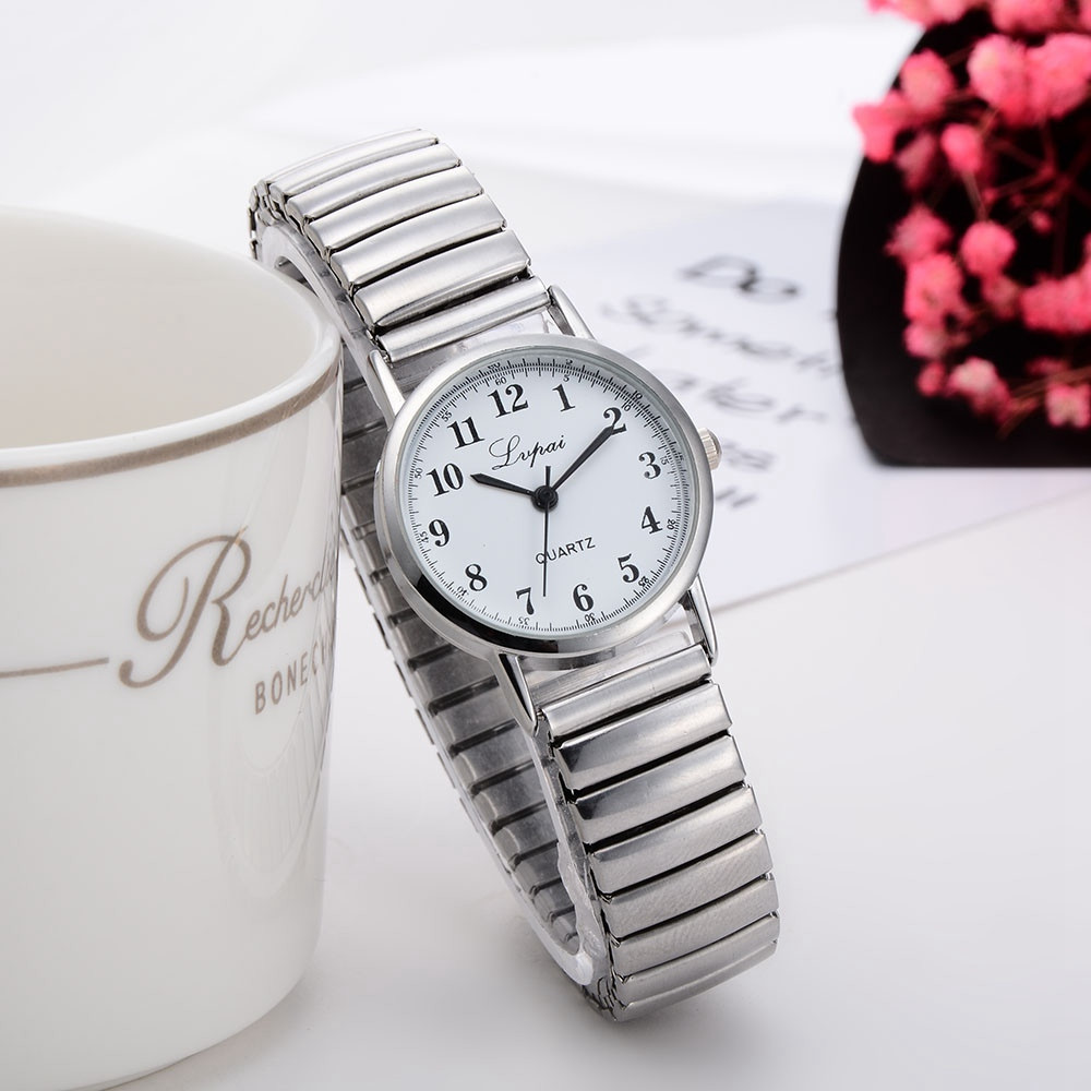 Silver Watch Women Watches Metal Bracelet for Wome Ladies Watch Quartz Women  Watches