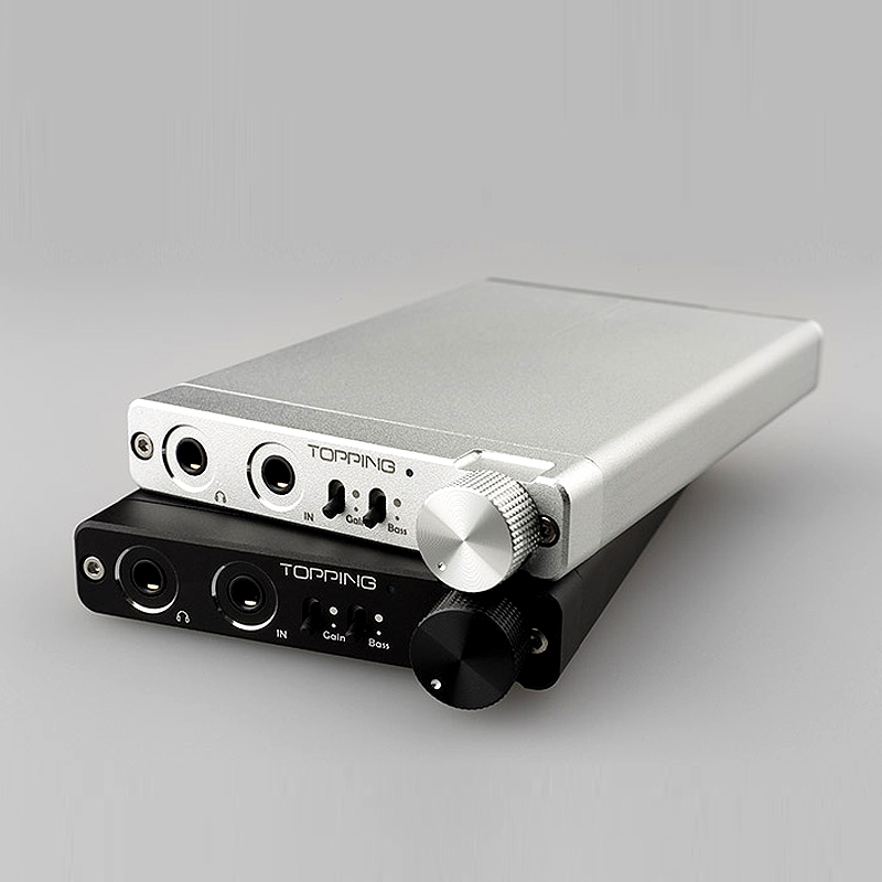TOPPING NX3 Portable  Amplifier HIFI Stereo Audio Amp Chip TPA6120A2 128 dB dynamic range gain & bass control new topping tp60 tp 60 ta2022 80w x 2 class t amp tripath mini hifi digital stereo power amplifier 2 analog rca inputs 220v 110v