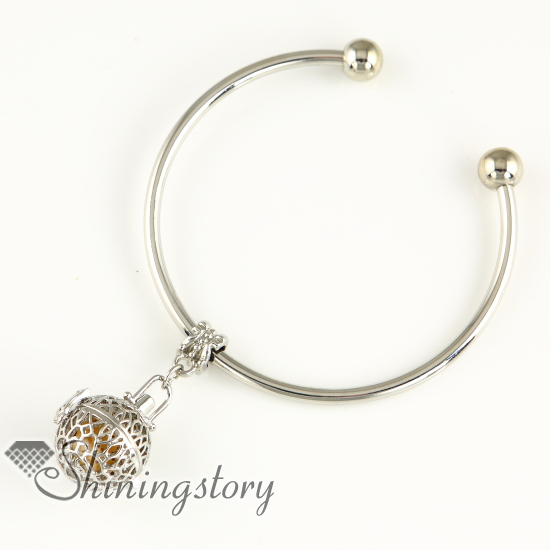 round openwork dangle jewelry scents essential bracelet essential oil bracelet diffuser bangles bracelets charm bracelets