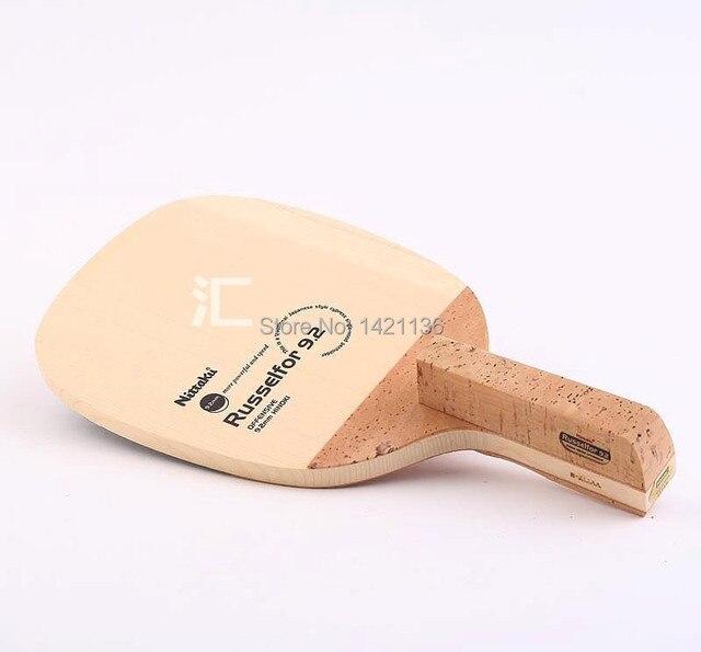 d7cf54c96 Nittaku Russelfor 9.2 Table Tennis Blade Japanese Single-wood Penholder -  offensive 9.2mm hinoki