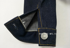 Image 5 - BOB DONG 23oz Selvage Denim Jacket Vintage Clothing 507XX Trucker Selvedge Coat