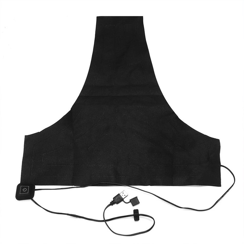 3 Gear Adjustable Alloy Fiber Heating Pad Hand Warmer USB Heating Film Electric Winter USB Heat Mat Clothes Heater Fishing