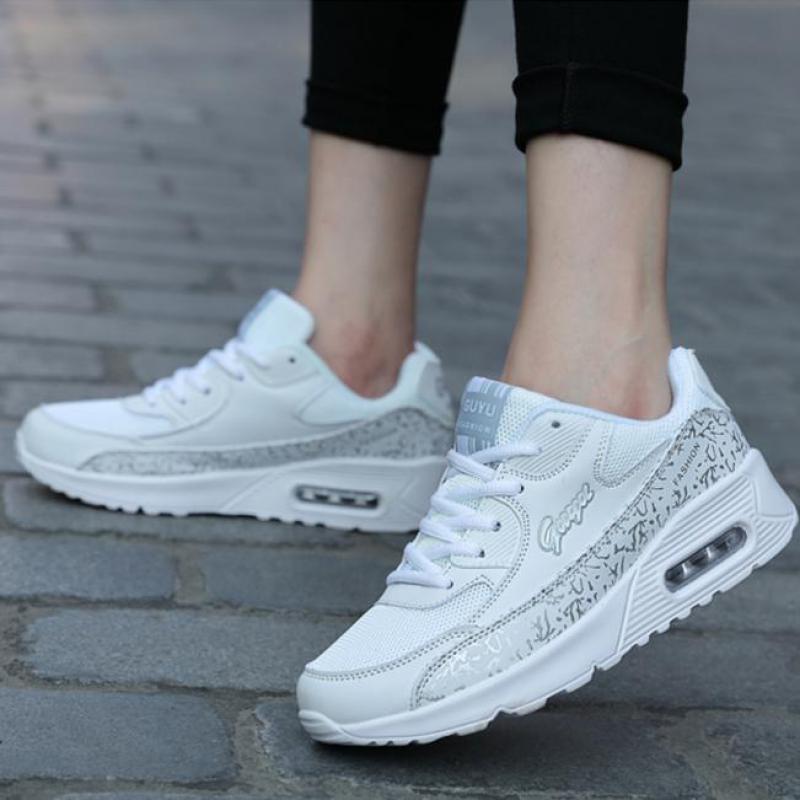 Moda Mujer Tenis 2018 Zapatos Casuales Blancas De Para Zapatillas VpqSUzM