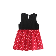 High Quality New Bohemian Summer Baby Girl Dress With Dot Pr