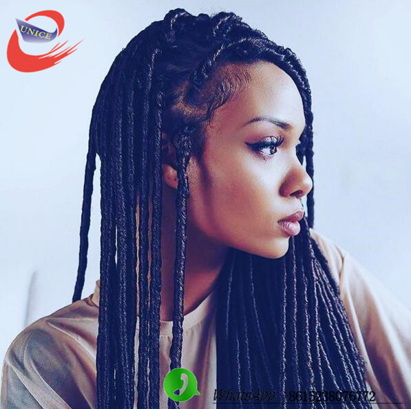 14'' 18'' synthetic soft dread crochet braids dreadlocks braids hair ...