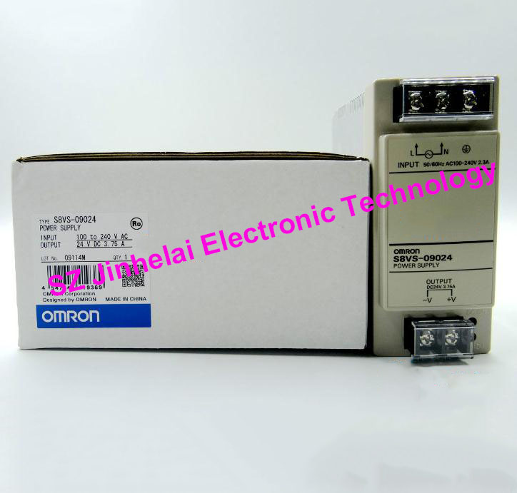 100% New and original OMRON  POWER MODULE S8VS-09024    3.75A 100% new and original cj1w nc433 omron position control unit