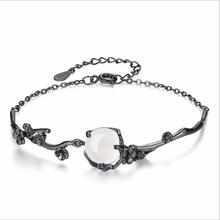 Everoyal Top Quality Silver 925 Girls Bracelets Jewelry Women Fashion Crystal Round Bracelet For Lady Party Accessories Female