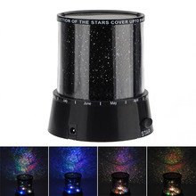 Mini Changeable Colors Lighting Stage Lights Amazing Sky Star Master LED Cosmos Laser Projector Lamp Night Light