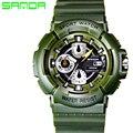 2017 SANDA Moda Relojes Militares Hombres Reloj de Cuarzo Analógico Reloj de Los Hombres Del Deporte Militar Reloj de Los Hombres Relogio masculino