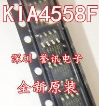 10 قطع. LOT KIA4558F KIA4558 A4558F SOP 8 العلامة التجارية الجديدة الأصلية