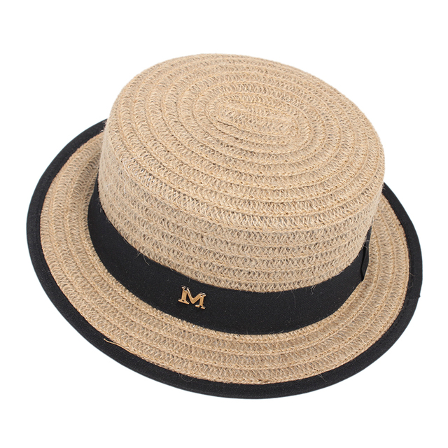 718a8cfaad8 Women Flat Top Summer Hats Casual Cotton Line Small Fedora Sun Hats For Men  Beach Caps Chapeau Homme