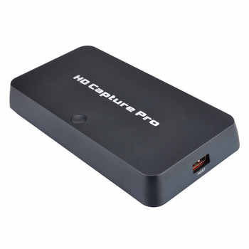 Ezcap295 HD Capture Pro, convert HDMI/components to HDMI/USB Flash disk for game equipment, HDCP, playback,1080@30fps