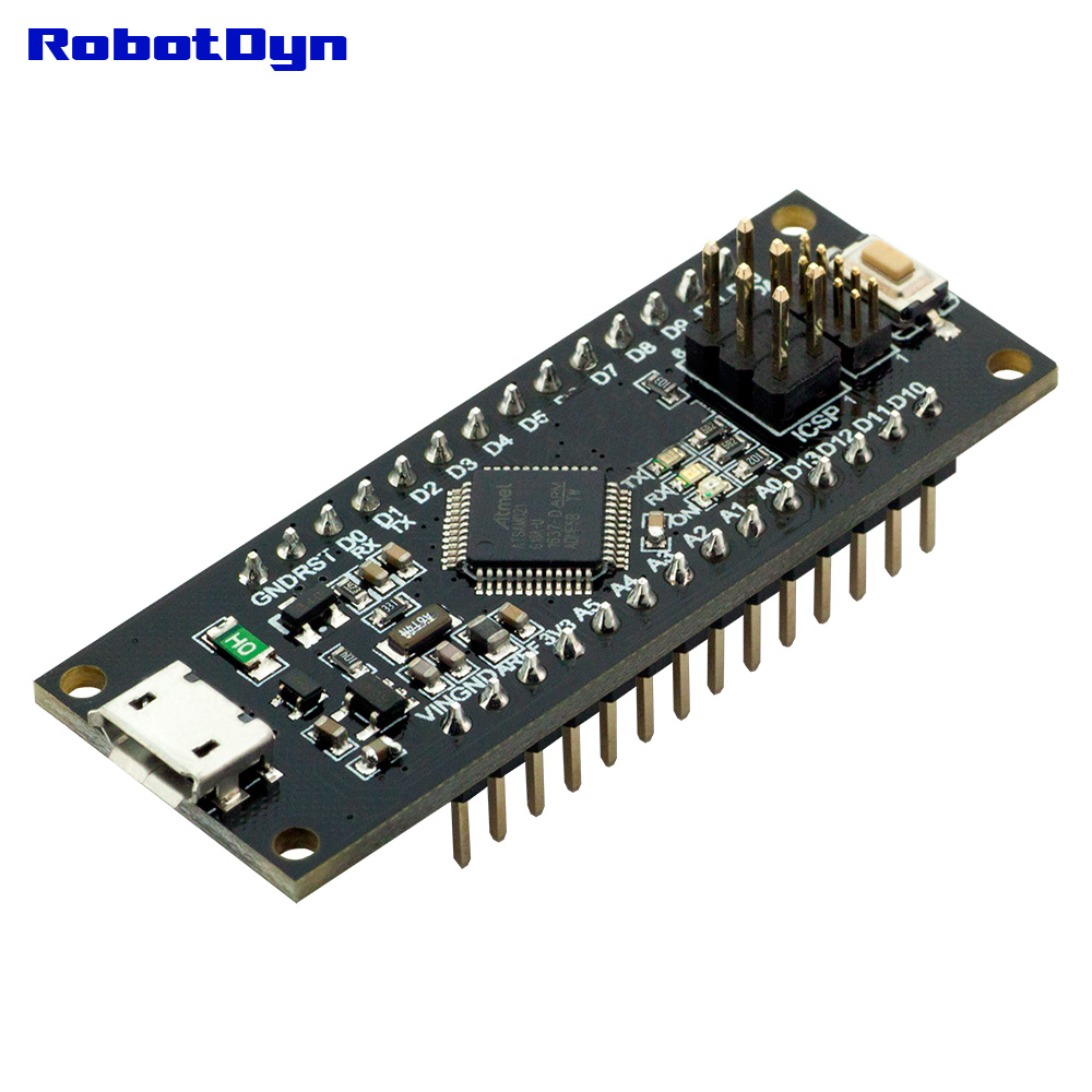 Micro ATmega32U4 (5V, 16MHz)  Pins soldered  Compatible with Arduino