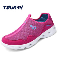 TOURSH Aqua Water Shoes Women Quick Dry Beach Outdoor Water Shoes Beach Waterproof Hiking Sandals Breathable