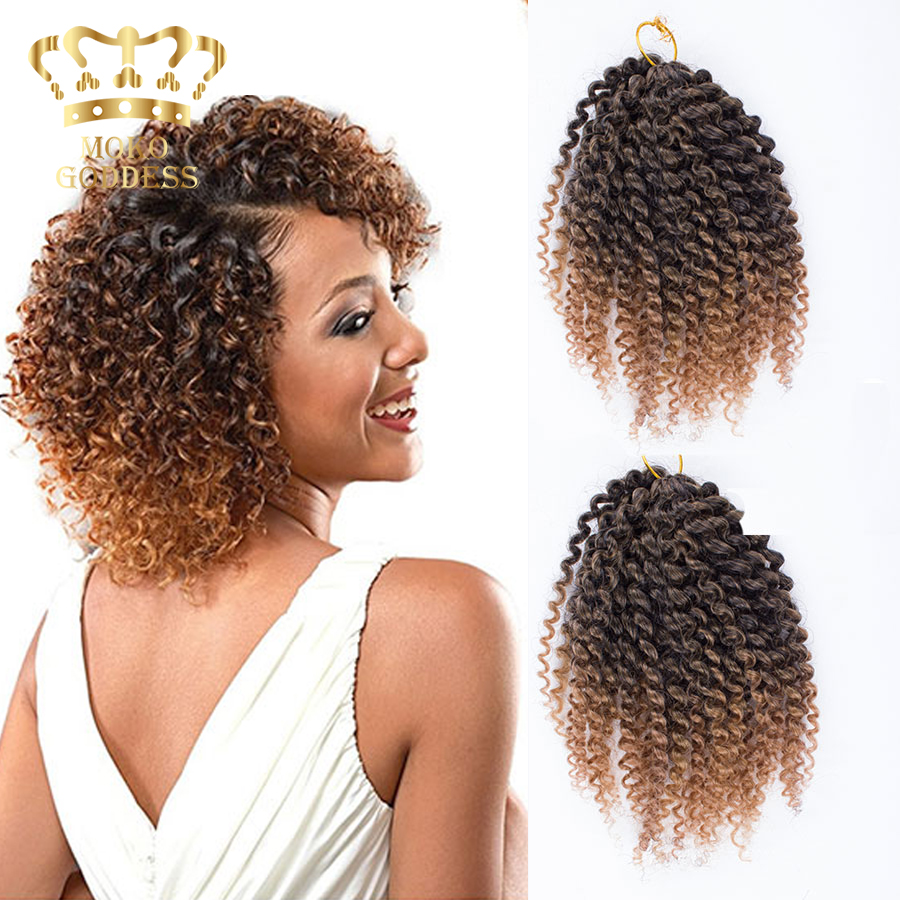 kinky curly synthetic braiding