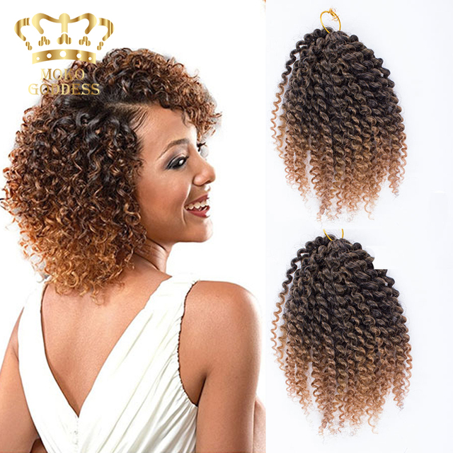 New Kinky Curly Synthetic Braiding Hair Senegalese Box Braids Styles
