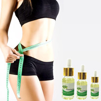 Green Tea Essential oil Navel Stick Creams patch Chinese Herbal for Slimming Products Lose weight 5/10/15ml Essential Oil