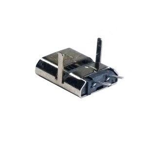 20 шт./лот USB 90 Степень погружения 2 Pin USB Разъемы пластиковый корпус Micro USB разъем Jack Tail Plug Mini Sockect терминалы