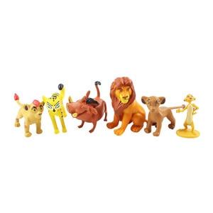 Image 2 - 12 pçs/set dos desenhos animados o leão guarda rei leão simba pvc figuras de ação bunga beshte fuli ono figurinhas boneca crianças brinquedos crianças meninos