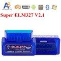 2016 Envío Gratis Super mini ELM327 Bluetooth odb2 Escáner ELM 327v2. 1 Smart Car Diagnostic interface ELM327 Herramienta de Análisis