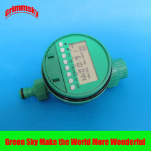 high quality LCD analogue waterproof sprinkler timer