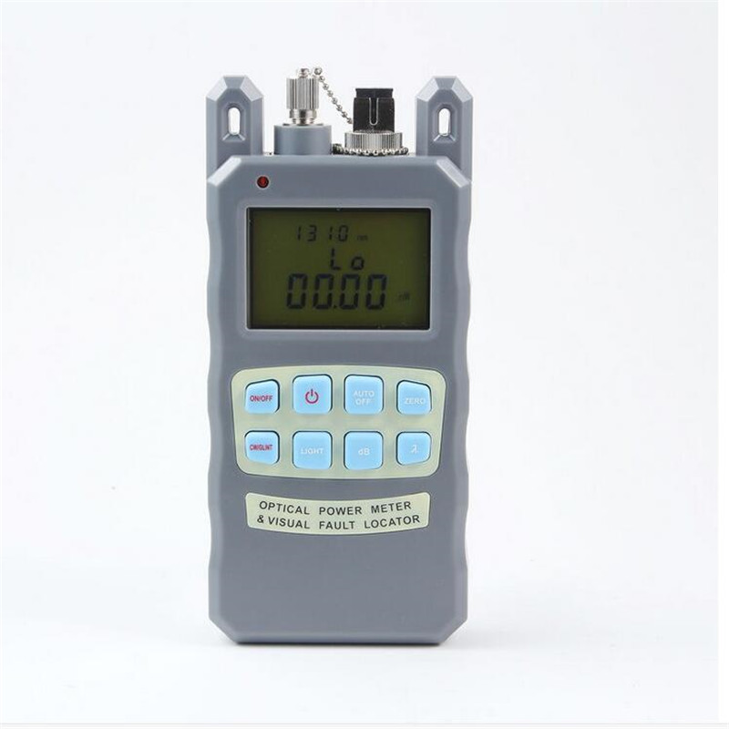 2in1 Fiber optical power meter -70 to +10dBm and 10mw 10km Fiber Optic Cable Tester Visual Fault Locator