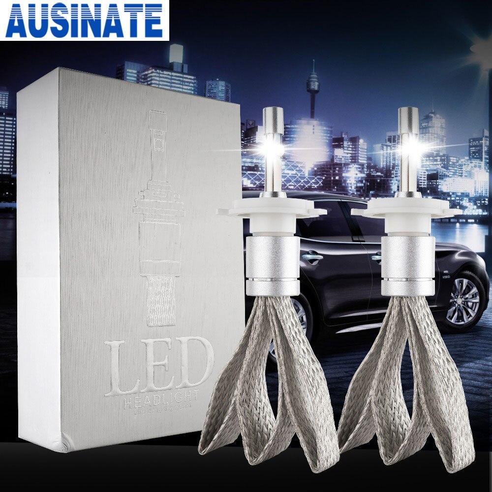 R3 80W 9600lm H7 LED fényszóró 6000K fehér szuper fényes autó - Autó világítás