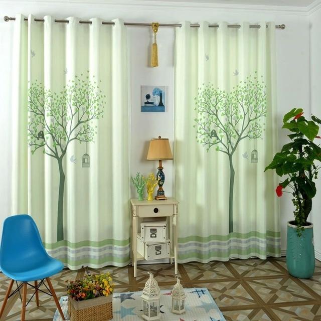cartoon bomen kinderkamer gordijnen voor babykamer kinderen baby gordijnen woonkamer corina kinderkamer decoratie