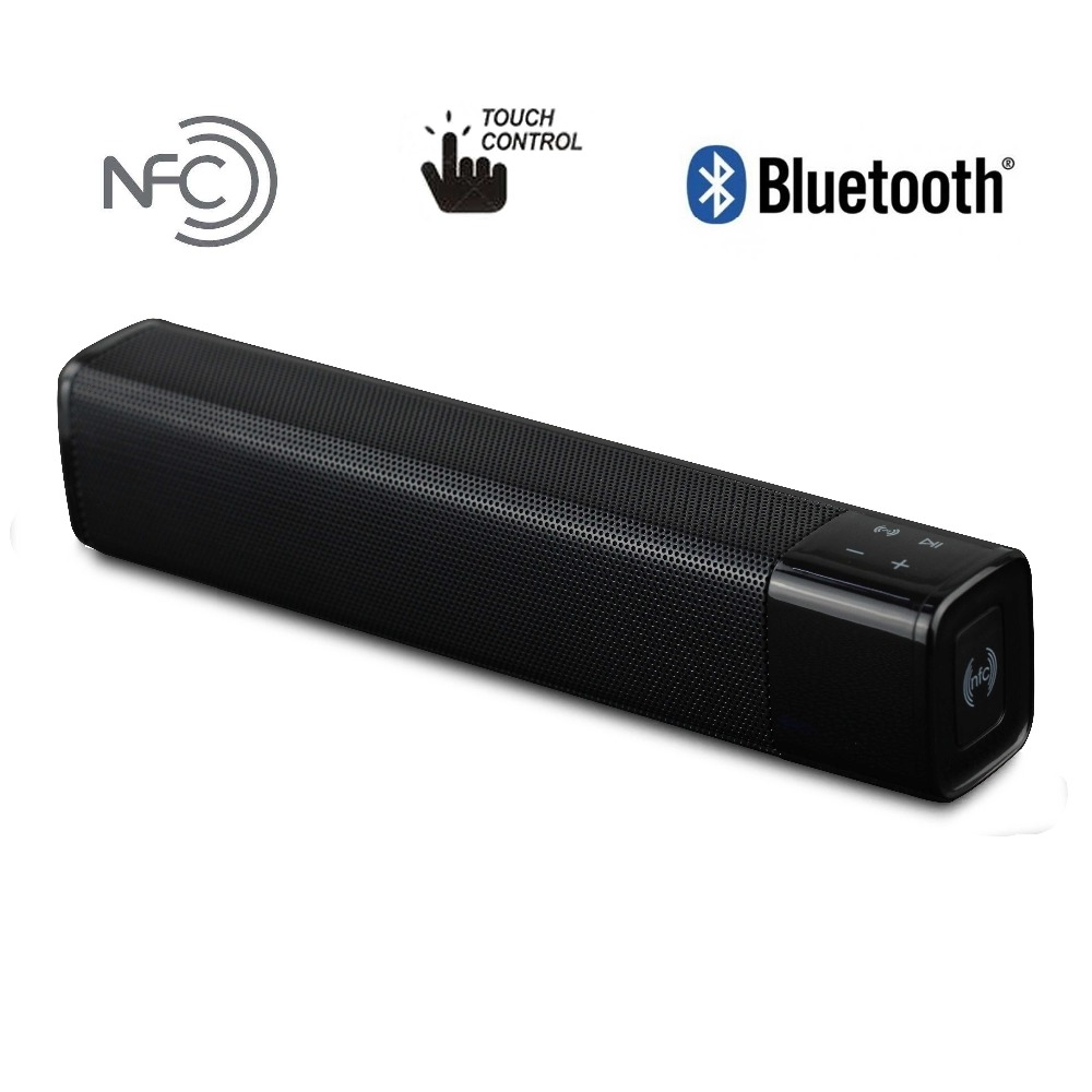 Bluetooth V4.1 Speaker Touch Control 20W 4400mAh Speaker Devpat Audio NFC Super Deep Bass Speaker Support micro SD Card Aux wireless multifunctional v4 0 edr bluetooth speaker touch control with nfc function