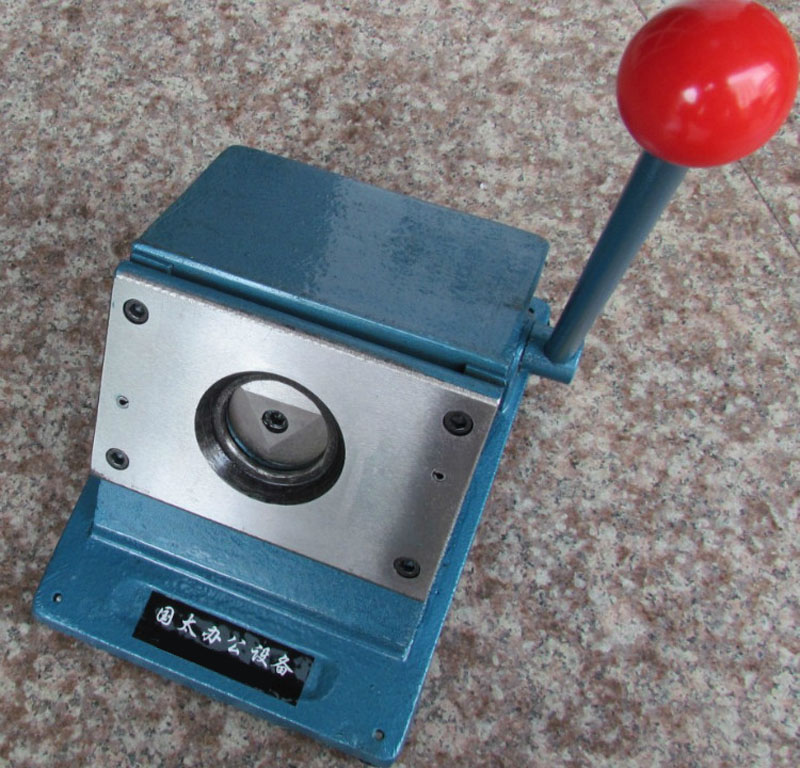"""Nuevo manual de trabajo pesado redondo 58mm 2 1/4 """"botón cortador de papel tamaño de corte redondo 70mm-in Cortadores de círculos from Hogar y Mascotas    1"""