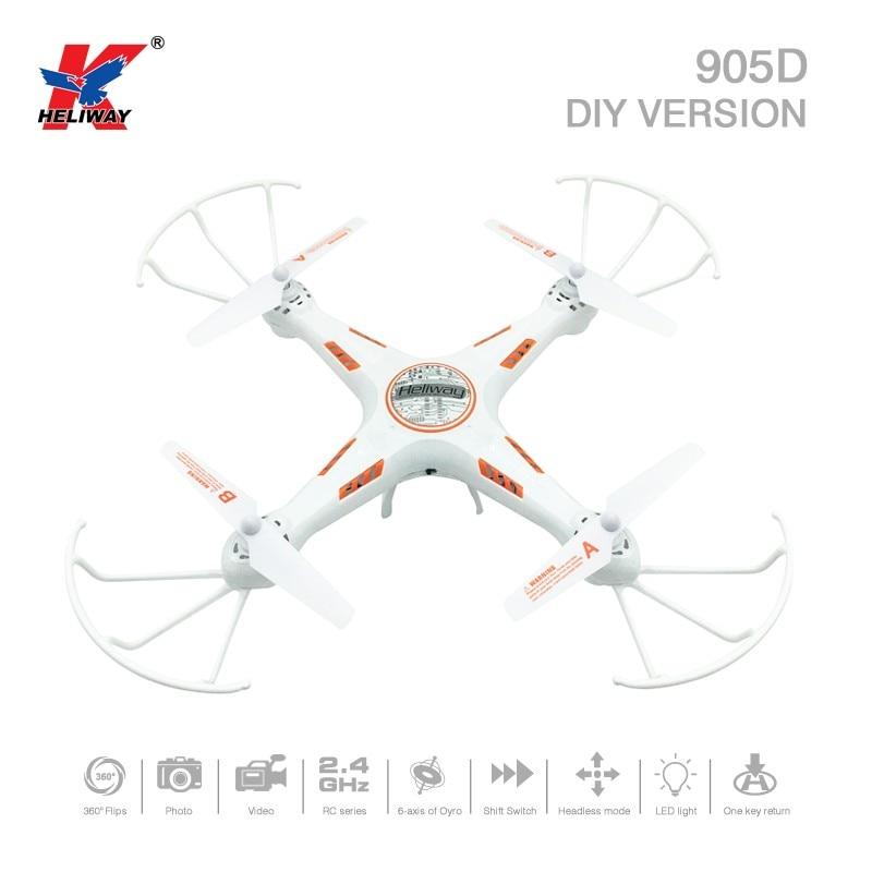 Heliway 905D DIY Version 2 4G 4CH 6Axis 4Channel One Key Return font b RC b