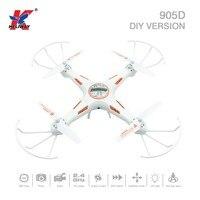 Heliway 905D DIY versión 2.4g 4CH 6 eje 4 canal una vuelta dominante RC quadcopter RTF drone F19027