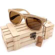 BOBO BIRD New Polarized Men's Brand Mirror Eyewear Wooden Sun Glasses Women Men Brand Wood Sunglasses for Friends as Gifts 2017